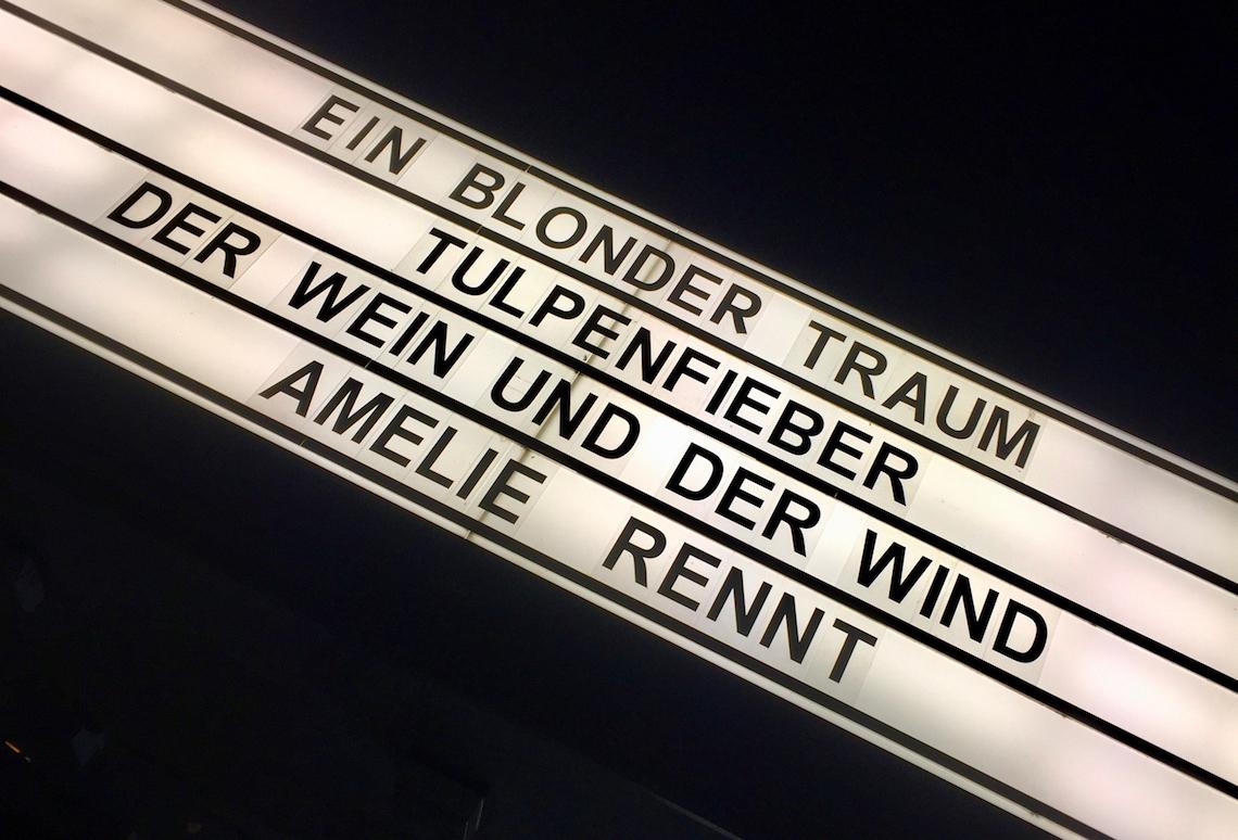 Filmwerbung Kammerspiele