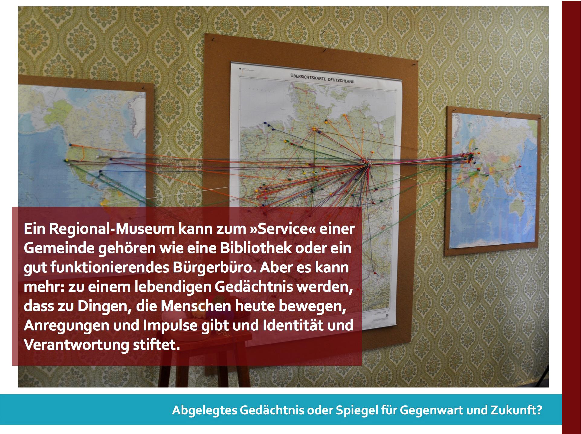 Präsentation der Museumsinitiative vor dem Ausschuss Kunst und Soziales